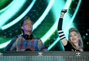Madonna and Avicii at the Ultra Music Festival in Miami - 24 March 2012 (19)