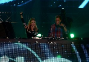 Madonna and Avicii at the Ultra Music Festival in Miami - 24 March 2012 (21)