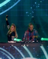 Madonna and Avicii at the Ultra Music Festival in Miami - 24 March 2012 (24)