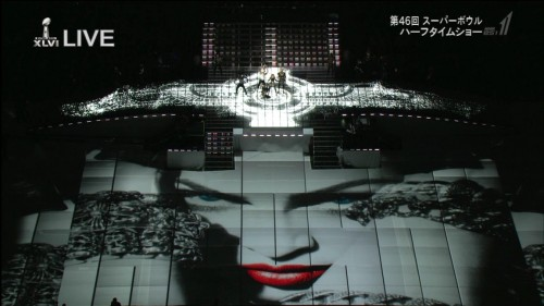 Madonna at the Super Bowl Halftime Show - 5 February 2012 - HD video (2)
