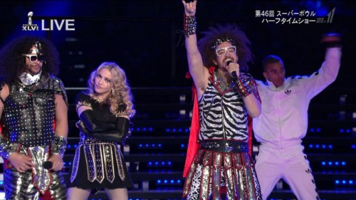 Madonna at the Super Bowl Halftime Show - 5 February 2012 - HD video (4)
