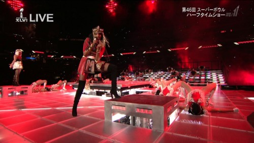 Madonna at the Super Bowl Halftime Show - 5 February 2012 - HD video (6)