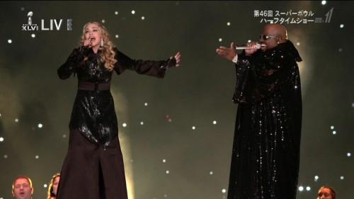 Madonna at the Super Bowl Halftime Show - 5 February 2012 - HD video (8)