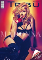 Madonna en couverture de Tribu Move - Avril 2012 - 01