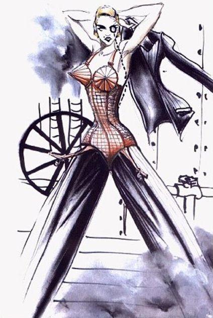 *時尚頑童Jean Paul Gaultier X 流行女王Madonna:搖擺你的Vogue DNA 5