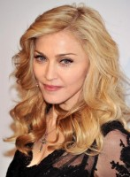 Madonna at the Truth or Dare fragrance launch - Macy's, NYC (1)