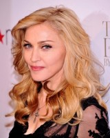 Madonna at the Truth or Dare fragrance launch - Macy's, NYC (2)