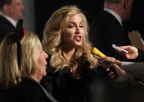 Madonna at the Truth or Dare fragrance launch - Macy's, NYC - HQ (103)