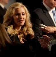 Madonna at the Truth or Dare fragrance launch - Macy's, NYC - HQ (105)