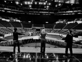 MDNA World Tour - First day in production (1)