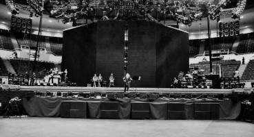 MDNA World Tour - First day in production (2)