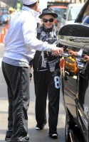 Madonna at the Kabbalah Centre in New York, 12 May 2012 (1)