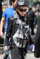 Madonna at the Kabbalah Centre in New York, 12 May 2012 (2)