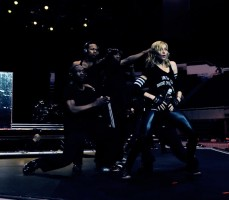 Madonna MDNA Tour rehearsals by Guy Oseary (2)