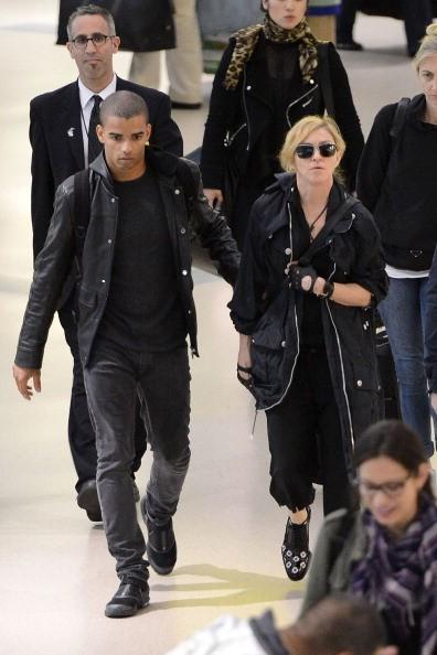 Madonna e o namorado Brahim Zaibat