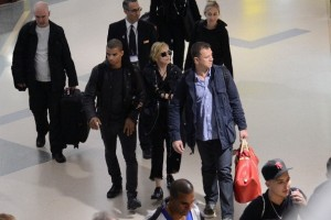 Madonna at JFK airport in New York - 24 May 2012 (3)