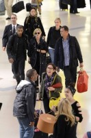 Madonna at JFK airport in New York - 24 May 2012 (19)
