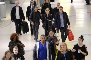 Madonna at JFK airport in New York - 24 May 2012 (21)
