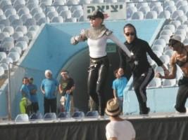 MDNA Tour Rehearsals - Ramat Gan Stadium Tel Aviv [26 May 2012] (1)