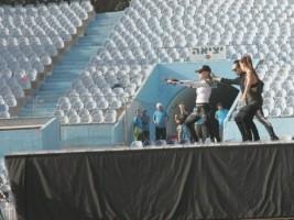 MDNA Tour Rehearsals - Ramat Gan Stadium Tel Aviv [26 May 2012] (2)