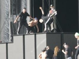 MDNA Tour Rehearsals - Ramat Gan Stadium Tel Aviv [26 May 2012] (3)