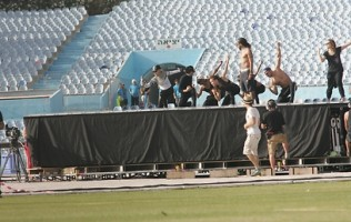 MDNA Tour Rehearsals - Ramat Gan Stadium Tel Aviv [26 May 2012] Part 2 (9)