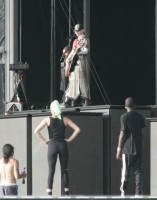 MDNA Tour Rehearsals - Ramat Gan Stadium Tel Aviv [26 May 2012] Part 3 (8)