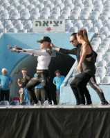 MDNA Tour Rehearsals - Ramat Gan Stadium Tel Aviv [26 May 2012] Part 3 (5)