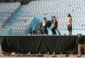 MDNA Tour Rehearsals - Ramat Gan Stadium Tel Aviv [26 May 2012] Part 3 (4)