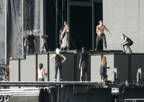MDNA Tour Rehearsals - Ramat Gan Stadium Tel Aviv [26 May 2012] Part 3 (2)