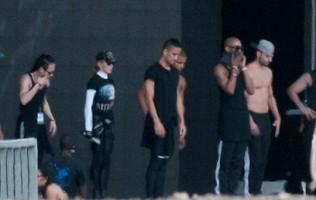 MDNA Tour Rehearsals - Ramat Gan Stadium Tel Aviv [27 May 2012] (1)