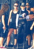 MDNA Tour Rehearsals - Ramat Gan Stadium Tel Aviv [27 May 2012] Part 2 (20)