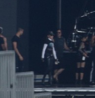 MDNA Tour Rehearsals - Ramat Gan Stadium Tel Aviv [27 May 2012] Part 2 (23)