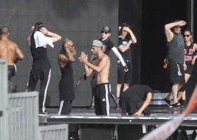 MDNA Tour Rehearsals - Ramat Gan Stadium Tel Aviv [27 May 2012] Part 2 (25)