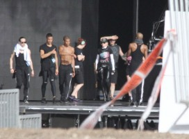 MDNA Tour Rehearsals - Ramat Gan Stadium Tel Aviv [27 May 2012] Part 2 (26)