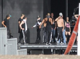 MDNA Tour Rehearsals - Ramat Gan Stadium Tel Aviv [27 May 2012] Part 2 (27)
