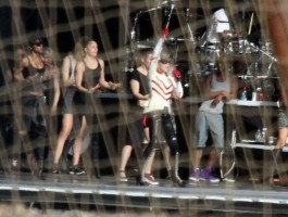 MDNA Tour Rehearsals - Ramat Gan Stadium Tel Aviv [28 May 2012] (4)
