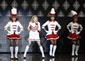 MDNA Tour Opening in Tel Aviv - HQ Part 3 (2)