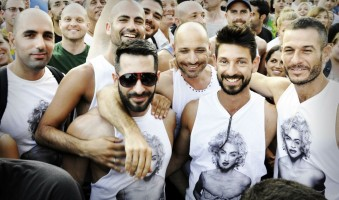 MDNA Tour Opening in Tel Aviv - Guy Oseary (8)