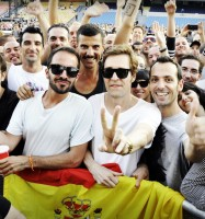 MDNA Tour Opening in Tel Aviv - Guy Oseary (9)