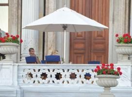 Madonna at the Ciragan Palace, Istanbul  - 8 June 2012 (1)