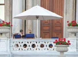 Madonna at the Ciragan Palace, Istanbul  - 8 June 2012 (2)
