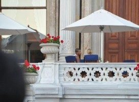 Madonna at the Ciragan Palace, Istanbul  - 8 June 2012 (3)