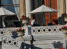 Madonna at the Ciragan Palace, Istanbul  - 8 June 2012 (6)