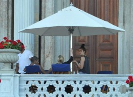 Madonna at the Ciragan Palace, Istanbul  - 8 June 2012 (7)
