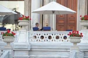 Madonna at the Ciragan Palace, Istanbul  - 8 June 2012 (9)