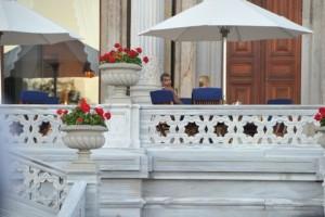 Madonna at the Ciragan Palace, Istanbul  - 8 June 2012 (10)
