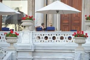 Madonna at the Ciragan Palace, Istanbul  - 8 June 2012 (11)