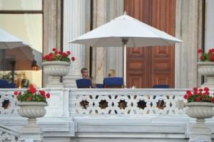 Madonna at the Ciragan Palace, Istanbul  - 8 June 2012 (12)