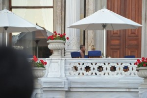 Madonna at the Ciragan Palace, Istanbul  - 8 June 2012 (13)